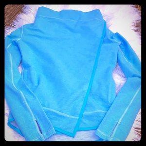 Pretty IVAVVA Lululemon Blue Button Jacket